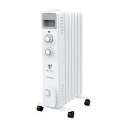 Масляный радиатор Royal Clima Ferrara ROR-F7-1500M 1500Вт, 20кв.м, 7 секций, регул. темп., термостат