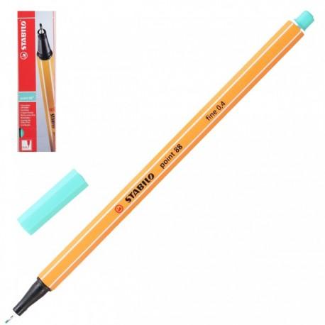 Ручка капиллярная STABILO зеленый лед 88/13 0,4мм