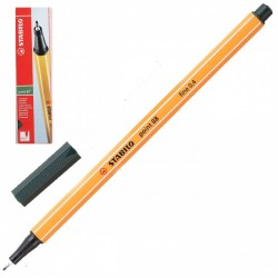 Ручка капиллярная STABILO цвет травы 88/63 0,4мм