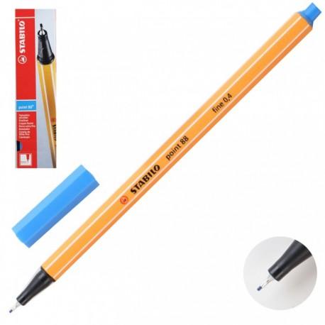 Ручка капиллярная STABILO ультрамарин 88/32 0,4мм