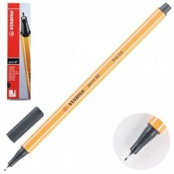 Ручка капиллярная STABILO черный 88/46 0,4мм