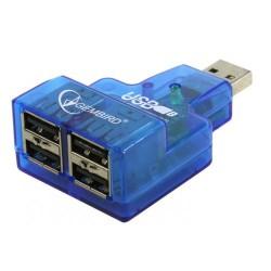 USB Хаб 4xUSB 2.0 GEMBIRD UHB-CN224
