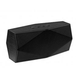 Портативная колонка Ginzzu GM-891B 6Вт,  Bluetooth, FM, SD/TF, AUX, сабвуфер, Черный