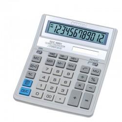 Калькулятор CITIZEN SDC-888XWH  12 разряд, белый