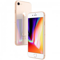 "Смартфон Apple iPhone 8 128Gb Gold 1sim/4.7""/1334*750/128Gb/-/12Мп/iOS11"