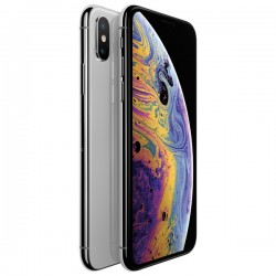 """Смартфон Apple iPhone Xs 64Gb Silver 1sim/5.8""""/2436*1125/A12/-/64Gb/-/12Мп/Bt/WiFi/GPS/iOS12/MT9F2RU/A"""