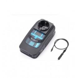 Автоинвертор PowerAce PI120 120Вт, 12В, от прикуривателя, порт USB
