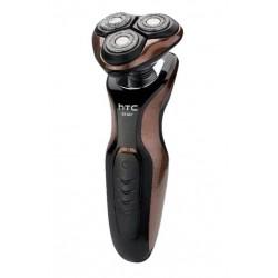 Бритва HTC GT-607 (Роторная,сухое,3 головки,триммер,вр. раб. 60мин.)