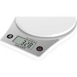 Кухонные весы Galaxy GL 2808 электронные, стекло, макс. 5кг, точность 1г, авто вкл/выкл