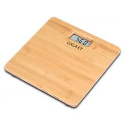 Весы Galaxy GL 4809 бамбук, точность 0,1кг, макс. 180кг, авто вкл/выкл