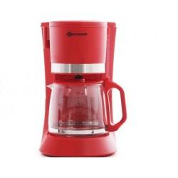 Кофеварка Eurostek ECM-6632 Red (680Вт,1.2л,капельная,тип кофе: молотый)