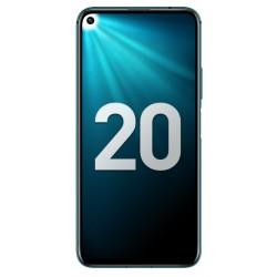 """Смартфон Huawei Honor 20 Pro 8/256GB Мерцающий бирюзовый 2sim/6.26""""/2340*1080/8*2.6ГГц/8Gb/256Gb/mSD/48+16+8+2Мп/NFC/And9/4000mAh"""