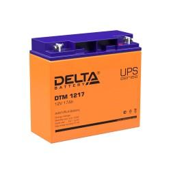 Аккумулятор Delta DTM 1217 (12В,17А)