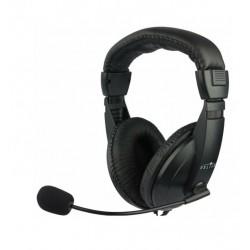 Гарнитура Oklick HS-M137V мониторные, кабель 1.8м, Black