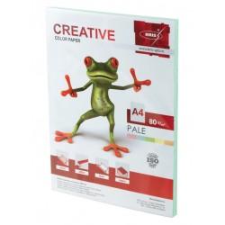 Бумага цветная А4 100л. CREATIVE Пастель зеленая  (110500)