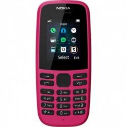 """Сотовый телефон Nokia 105 2019 Pink (1sim/1.77""""/160*120/4Mb/800мАч)"""