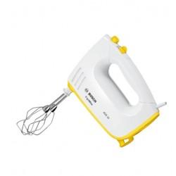 Миксер Bosch MFQ36300Y White/yellow 400Вт, 5 скоростей, 4 насадки
