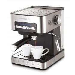 Kофеварка Endever Costa-1065 Silver 850Вт,1.6л,20 бар,рожковая,тип кофе: молотый