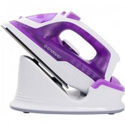 Утюг Endever Delta 120 White/violet 1200Вт, 200мл, паровой удар 120г/мин, керамика