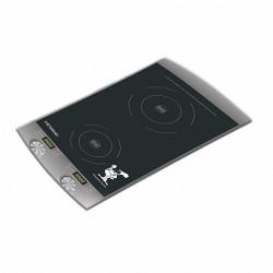 Плита настольная Endever IP-23 Black 2000Вт, конфорок-2, упр. сенсор., индукция
