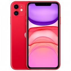 """Смартфон Apple iPhone 11 128Gb красный 1sim/6.1""""/1792*828/A13/128Gb/12+12Мп/NFC/iOS13/MWM32RU/A"""