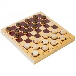 Игра настольная Шашки, Орловские шахматы, деревянные, с доской С-16/D-2