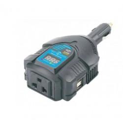 Автоинвертор PowerAce PID125 125Вт, 12В, от прикуривателя, порт USB, Digital Display