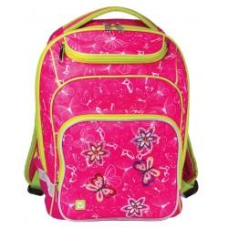 Рюкзак BRAUBERG для начальной школы, эргономичная спинка, девочка, Весна, 226365