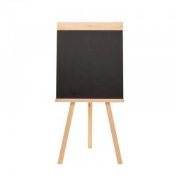 Доска - мольберт меловая (грифельная) Attache 42х45см, черная, 1057242