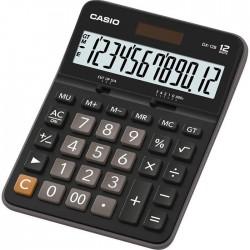 Калькулятор CASIO DX-12B-W-EC черный/коричневый 12-разр.
