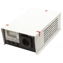 Преобразователь 24в-220в 2000вт ИС1-24-2000У/чистый синус, защита от КЗ, перегрузки, -40..+40°C