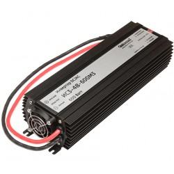 Преобразователь 48в-220в 600вт ИС3-48-600М3 / чистый синус, защита от КЗ, перегрузки, -40..+40°C