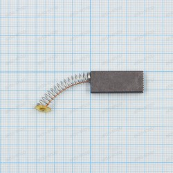 Щетка графитовая 5x12x29мм, пружина, пятак круглый 9мм