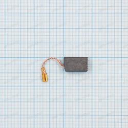 Щетка графитовая 6,3x10x16мм, провод, клемма ножевая мама 2,8мм
