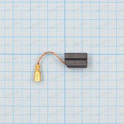 Щетка графитовая 6,3x8x13мм, провод, клемма ножевая мама 2,8мм