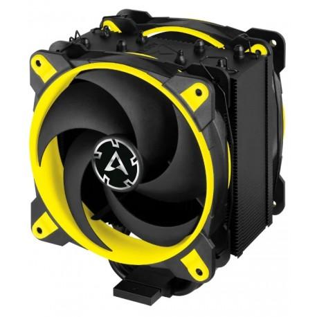 Кулер Arctic Freezer 34 eSports DUO Yellow (210w,2x120mm,200-2100rpm,PWM,Al+Cu,S115х/2011/2066/AM4)
