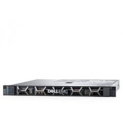 DELL PowerEdge R340 1U/ 8SFF/ E-2174G (4c, 3.8 GHz, 71`W)/ 1x16GB UDIMM ECC/ H330/ 1x1,2 TB 10k SAS/ 2xGE/ 1x350W/ iDRAC9 Exp/ DVDRW/ Bezel / Static Rails/ noCMA/ 3YBWNBD