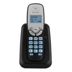 Радиотелефон Texet TX-D6905А черный 1трубка/50м/300м/АОН/книга 30номеров/10-100 ч/550 мАч
