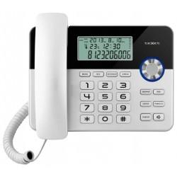 Телефон Texet TX-259 черно-серебристый (повторн.набор/тон.набор/настен.установка/CallerID/спикерфон/дисплей/часы)