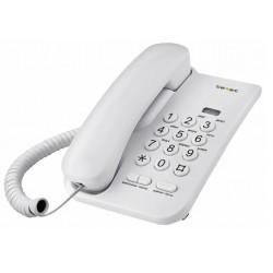 Телефон Texet TX-212 светло-серый (повтор.набор/тон.набор/настен.установка/световая индикация вызыва