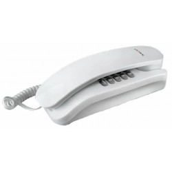 Телефон Texet TX-215 белый повторн.набор/тон.набор/отключение микрофона
