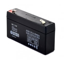 Аккумулятор GS 1.3-6 (6V,1.3Ah )