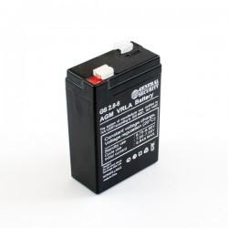 Аккумулятор GS 2.8-6 (6V, 2.8Ah)