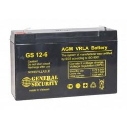 Аккумулятор GSL 12-6 (6V, 12Ah)
