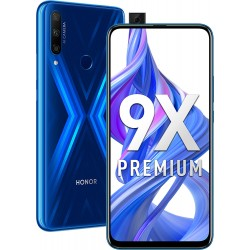 "Смартфон Huawei Honor 9X Premium 6/128GB Blue 2sim/6.59""/2340*1080/8*2.2ГГц/6Gb/128Gb/mSD/48+8+2Мп/And9.0/4000mAh"