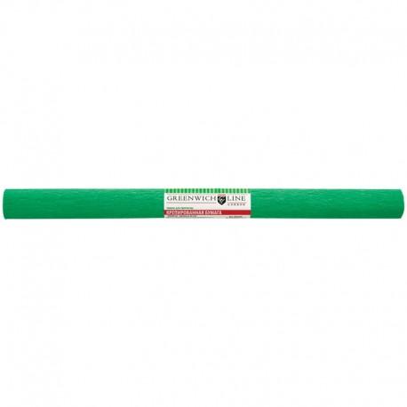 Цветная бумага крепированная Greenwich Line 50*250см. зелёная, в рулоне (CR25068)