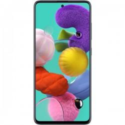 "Смартфон Samsung GalaxyA51 64GB SM-A515F Черный 2sim/6.5""/2400*1080/8х2.3ГГц/6Gb/64Gb/mSD/48+12+5+5Мп/NFC/And9.0/4000mAh"