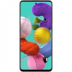 "Смартфон Samsung GalaxyA51 64GB SM-A515F Белый 2sim/6.5""/2400*1080/8х2.3ГГц/6Gb/64Gb/mSD/48+12+5+5Мп/NFC/And9.0/4000mAh"