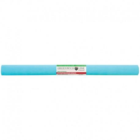 Цветная бумага крепированная Greenwich Line 50*250см. бирюзовая, в рулоне (CR25088)