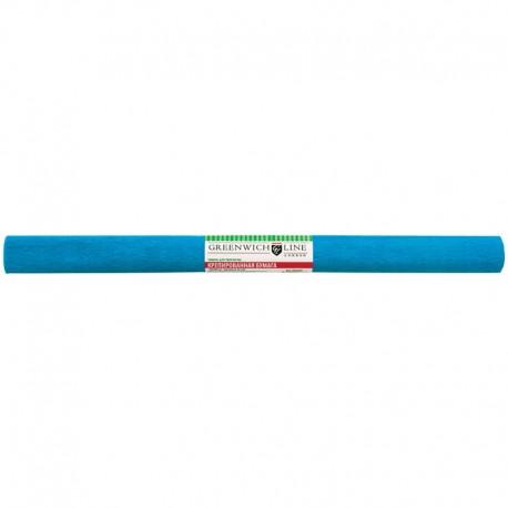 Цветная бумага крепированная Greenwich Line 50*250см. небесно-голубая, в рулоне (CR25050)